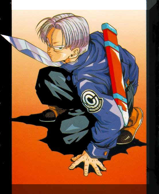 dragon ball z super saiyan trunks. Dragon Ball Z GT super saiyan